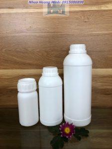 Chuyên sản xuất và cung cấp chai nhựa nông dược, chai đựng chế phẩm sinh học, chai đựng hóa chất tẩy rửa
