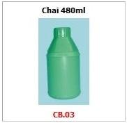 Chai nhựa HDPE ca01