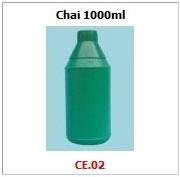 Chai nhựa HDPE ca04