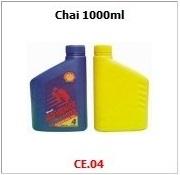 Chai nhựa HDPE ca05