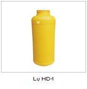 Chai nhựa HDPE mp03
