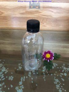 Chai nhựa PET 250ml đựng nước ép trái cây 19