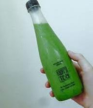 Chai nhựa dẹt 330ml đựng nước ép trái cây, trà sữa 22