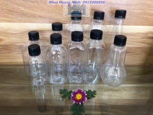 Công ty sản xuất chai nhựa PET đựng trà sữa, chai đựng nước ép trái cây: Mẫu mã đẹp, giá rẻ