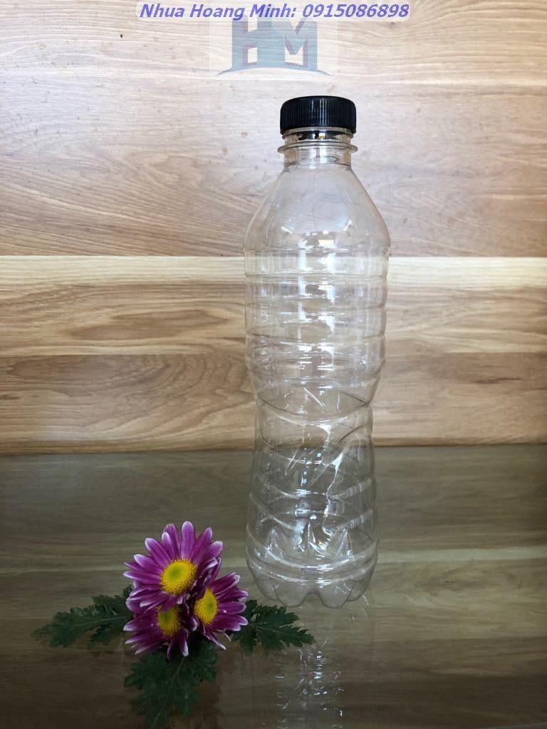Chai nhựa PET 500ml – Chai đựng nước khoáng