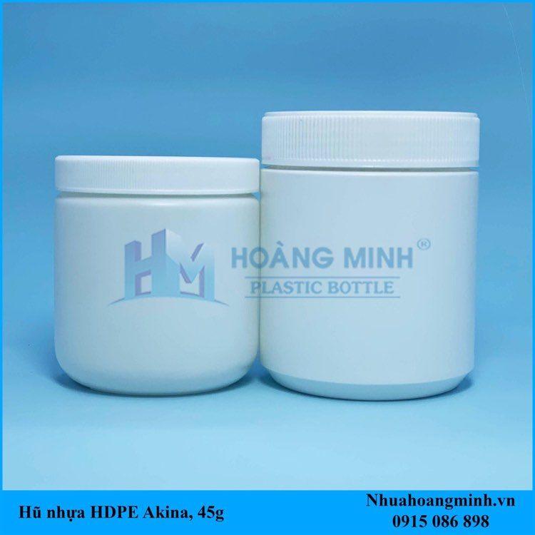 Hũ nhựa HDPE 200gram