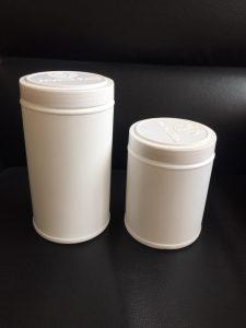 hũ nhựa HDPE đựng bột nghệ, bột ngũ cốc, mầm đậu nành