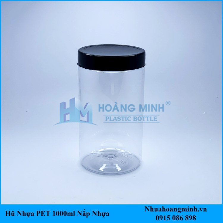 Hũ Nhựa PET 1000ml