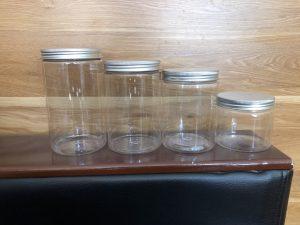 Hũ PET nắp nhôm, nắp nhựa – Sản phẩm chất lượng cao