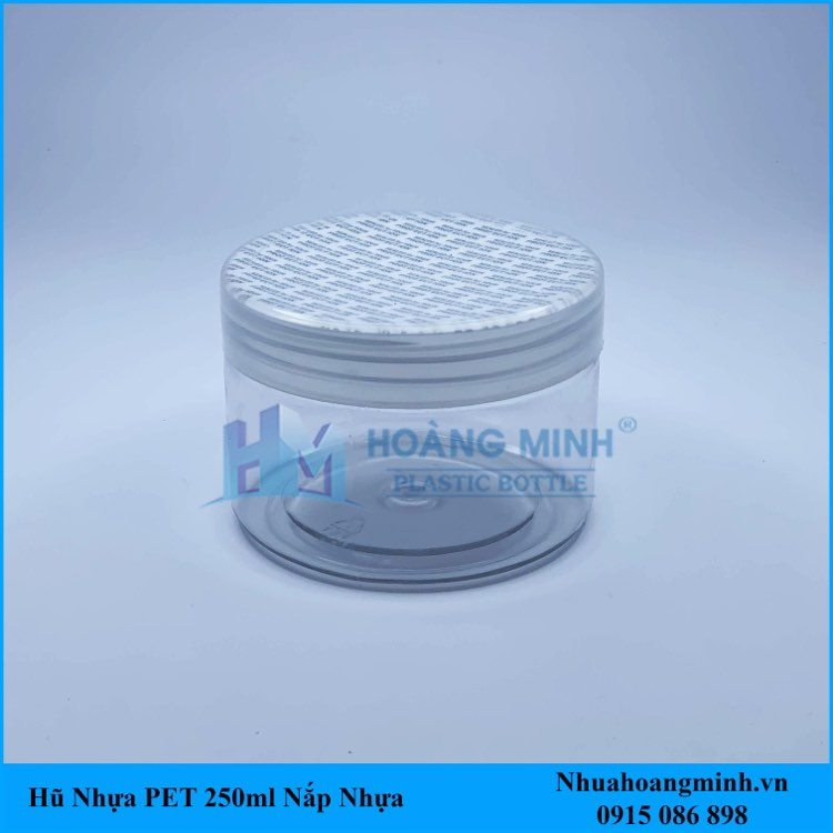 Hũ Nhựa PET 250ml