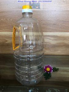 Can nhựa thực phẩm 2 lit