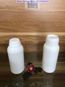 Chai nhựa hdpe 500ml