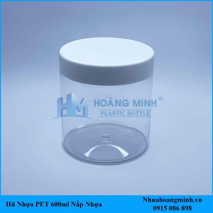 Hũ Nhựa PET 600ml