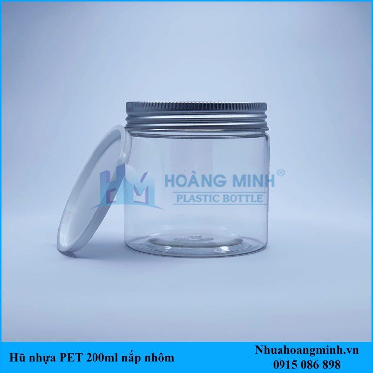 Hũ nhựa PET 200ml