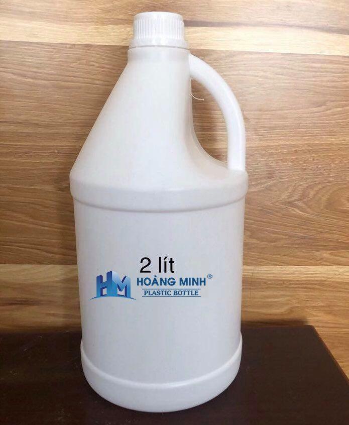Can nhựa HDPE 2 lit