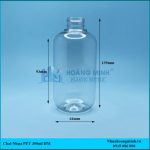 Chai nhựa đựng dầu gội 350ml
